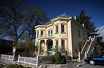 The Louise Rinckel mansion in Carson City, Nev., on Tuesday, April 17, 2018. <br /> Photo by Cathleen Allison/Nevada Momentum