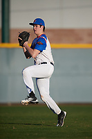 Alexander Forry (13) of Livonia Franklin in Livonia, Michigan during the Baseball Factory All-America Pre-Season Tournament, powered by Under Armour, on January 13, 2018 at Sloan Park Complex in Mesa, Arizona.  (Mike Janes/Four Seam Images)