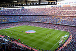 A view of Camp Nou Stadium during the La Liga match between Barcelona and Real Sociedad at Camp Nou on May 20, 2018 in Barcelona, Spain. Photo by Vicens Gimenez / Power Sport Images