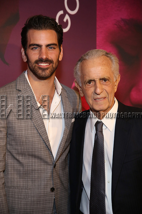Nyle DiMarco and Mark Medoff attends the Broadway Opening Night After Party for 'Children of a Lesser God' at Edison Ballroom on April 11, 2018 in New York City.