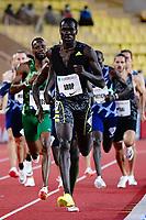 9th July 2021, Monaco, France; Diamond League Athletics, Herculis meeting, Monaco;  Marco Arop (Canada)