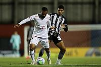 26th August 2020; Estadio Vila Capanema, Curitiba, Brazil; Copa Do Brasil, Parana Clube versus Botafogo; Paulo Henrique of Parana Clube holds off Luis Henrique of Botafogo