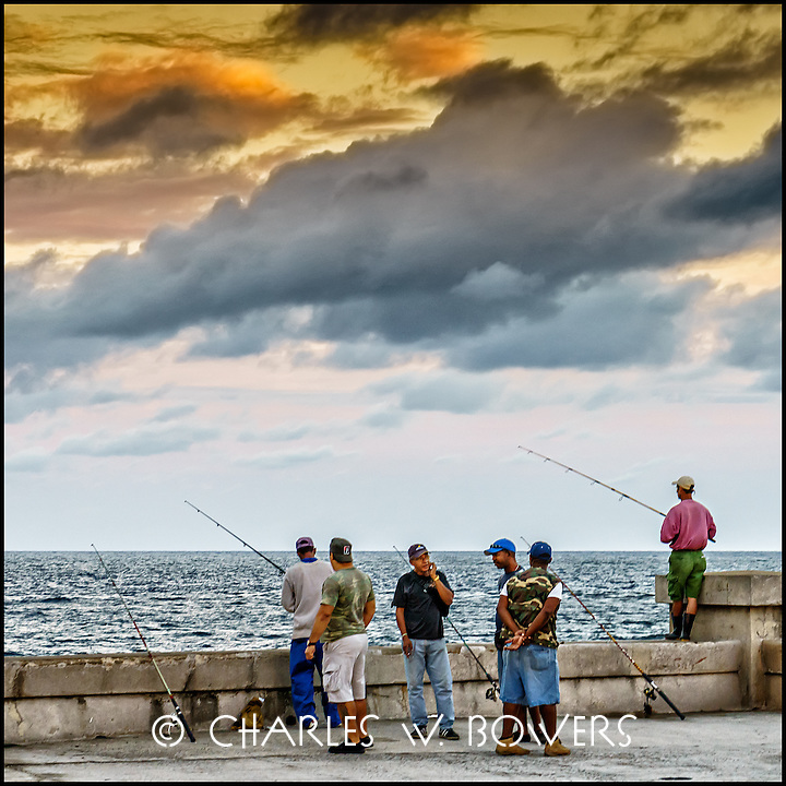 Faces Of Cuba - the morning is the same. We fish for our dinner.<br /> <br /> - Limited edition of 50 prints.