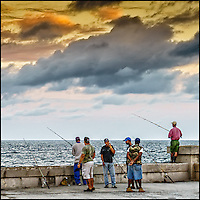 Faces Of Cuba - the morning is the same. We fish for our dinner.<br />