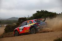 6th June 2021; Olbia, Sardinia, Italy; WRC Rally of Sardegna, final day; Stages SS17-SS20;  Huttunen-Hyundai NG I20