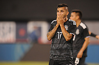 EAST RUTHERFORD, NJ - SEPTEMBER 7: Jesus Manuel Corona #17 of Mexico during the game during a game between Mexico and USMNT at MetLife Stadium on September 6, 2019 in East Rutherford, New Jersey.