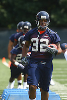 Virginia running back Keith Payne during open spring practice for the Virginia Cavaliers football team August 7, 2009 at the University of Virginia in Charlottesville, VA. Photo/Andrew Shurtleff