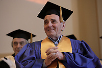 Montreal  (QC) CANADA - August 20  2009 - Charles Aznavour receive an honorary diploma from Universite de Montreal.