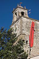 Europe/France/Rhône-Alpes/26/Drôme/Grignan: Le Beffroi du XII° siècle lors du Festival de la correspondance