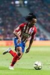 Gelson Martins of Atletico de Madrid in action during their International Champions Cup Europe 2018 match between Atletico de Madrid and FC Internazionale at Wanda Metropolitano on 11 August 2018, in Madrid, Spain. Photo by Diego Souto / Power Sport Images