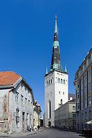 St. Olav in Tallinn (Reval), Estland, Europa, Unesco-Weltkulturerbe