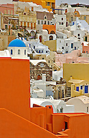 Image from the Book Jouney Through Color and Time Santorini Greece