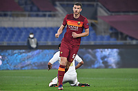 Edin Dzeko of AS Roma during the Europa League round of 32 2nd leg football match between AS Roma and Braga at stadio Olimpico in Rome (Italy), February, 25th, 2021. Photo Andrea Staccioli / Insidefoto