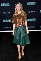 """LOS ANGELES, USA. December 11, 2019: Brianna Barnes at the premiere of """"Bombshell"""" at the Regency Village Theatre.<br /> Picture: Paul Smith/Featureflash"""