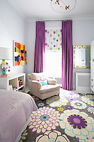 modern floral bedroom carpet