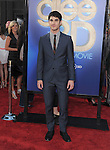 Darren Criss attends The 20th Century Fox - GLEE 3D Concert World Movie Premiere held at The Regency Village theatre in Westwood, California on August 06,2011                                                                               © 2011 DVS / Hollywood Press Agency