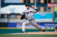 Scranton/Wilkes-Barre RailRiders pitcher Danny Coulombe (54) during an International League game against the Rochester Red Wings on June 25, 2019 at Frontier Field in Rochester, New York.  Rochester defeated Scranton 10-9.  (Mike Janes/Four Seam Images)