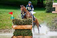 GBR-Richard Coney rides Kananaskis during the cross country for the British Horse Feeds CCI-Lu25-4*. 2019 GBR-Equi-Trek Bramham International Horse Trials. Saturday 8 June. Bramham Park. Yorkshire. United Kingdom. Copyright Photo: Libby Law Photography