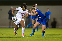 STANFORD, CA - NOVEMBER 22: Stanford, CA - November 22, 2019: Madison Haley at Laird Q. Cagan Stadium. The Stanford Cardinal defeated Hofstra 4-0 in the second round of the NCAA tournament. during a game between Hofstra and Stanford Soccer W at Laird Q. Cagan on November 22, 2019 in Stanford, California.