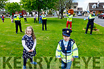 Garda David O'Sullivan, Garda Aisling Connor, Thomas White (Tralee Red Cross) and Garda Aidan O'Mahony dance the day away as they help twins Grace and Adam Roche celebrating their 8th birthday in Ashgrove Tralee on Saturday