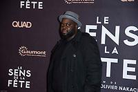 ISSA DOUMBIA - PREMIERE DU FILM 'SENS DE LA FETE' AU GRAND REX A PARIS, 26 SEPTEMBRE 2017