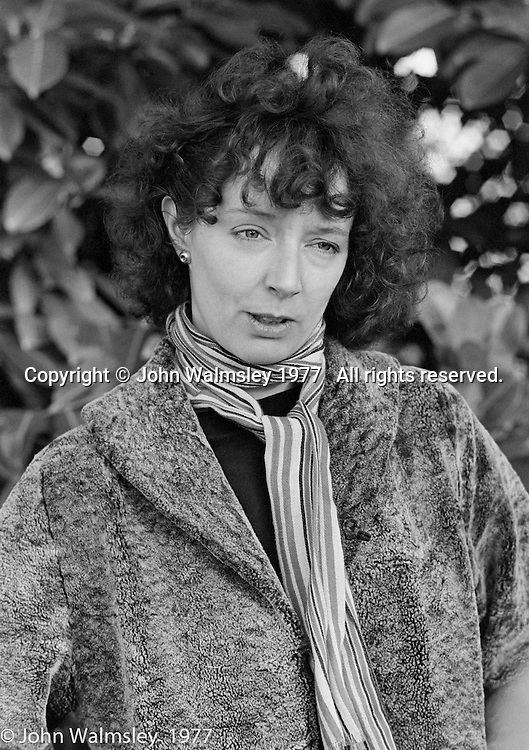Patricia Leighton, sculptor, lived and worked at Digswell House, an artists' community run by the Digswell Arts Trust, Welwyn Garden City, Hertfordshire, UK.  1977.  Other artists there at the time included: Lol Coxhill, jazz saxophonist, John Blakeley, sculptor, Liz Fritsch, potter, Veryan Weston, jazz pianist and John Walmsley, photographer.
