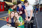 Enjoying the evening at the KHA Restaurant in Killarney on Saturday, l to r: Seated: Lara Hoare and Katie O'Driscoll. Back l to r: Saoirse O'Sullivan, Jake Ryan and Bren Flaherty.