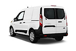 Car pictures of rear three quarter view of 2019 Ford Transit-Connect XL 5 Door Car Van Angular Rear