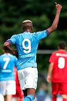 Viktor Osimhen<br /> Dimaro 18/07/2021 <br /> Football 2021/2022 preseason friendly match between SSC Napoli and Bassa Anaunia <br /> Photo Image Sport / Insidefoto