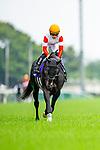 FUCHU,JAPAN-JUN 6: Danon Kingly,ridden by Yuga Kawada,is post paradingbefore the Yasuda Kinen at Tokyo Racecourse on June 6,2021 in Fuchu,Tokyo,Japan. Kaz Ishida/Eclipse Sportswire/CSM