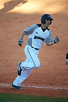 Wisconsin-Milwaukee Panthers second baseman Billy Quirke (7) runs the bases on a Daulton Varsho (not shown) home run during a game against the Bethune-Cookman Wildcats on February 26, 2016 at Chain of Lakes Stadium in Winter Haven, Florida.  Wisconsin-Milwaukee defeated Bethune-Cookman 11-0.  (Mike Janes/Four Seam Images)