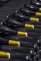pile of bottles domaine gachot-monot nuits-st-georges cote de nuits burgundy france