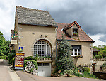 A house in the village of La Rochepot, Burgundy.