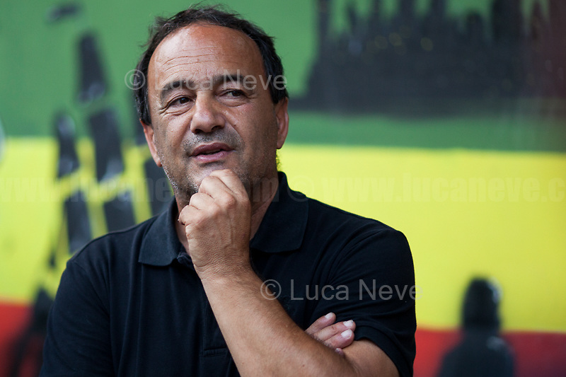 Domenico 'Mimmo' Lucano (Mayor of Riace).<br />