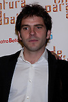 12.04.2012. Photocall invited to the premiere of  'From the waist down' at the Teatro Bellas Artes in Madrid. This funny and surprising comedy written and directed by Felix Sabroso and Dunia Ayaso, and starring Antonia San Juan, Luis Miguel Segui and Jorge  Monje. In the image Jorge  Monje .(Alterphotos/Marta Gonzalez)