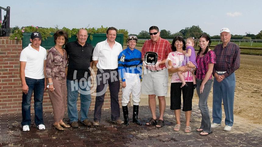 Hamazing Destiny winning at Delaware Park on 9/13/10