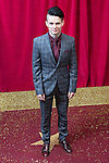 © Licensed to London News Pictures . 16/05/2015 .  The Palace Hotel , Manchester , UK . JAMES FLETCHER . The red carpet at the 2015 British Soap Awards , The Palace Hotel , Oxford Road , Manchester . Photo credit : Joel Goodman/LNP