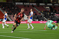 Sam Surridge of Bournemouth celebrates his goal before being disallowed during AFC Bournemouth vs Crystal Palace, Carabao Cup Football at the Vitality Stadium on 15th September 2020