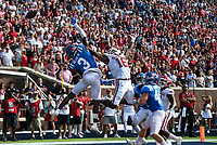 Image, Saturday, October 9, 2021 during a football game at Vaught Hemingway Stadium in Oxford, Miss. Check out nwaonline.com/211010Daily/ for today's photo gallery. <br /> (NWA Democrat-Gazette/Charlie Kaijo)