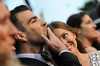 Zachary Quinto .Cannes 22/5/2013 .66mo Festival del Cinema di Cannes 2013 .Foto Panoramic / Insidefoto .ITALY ONLY