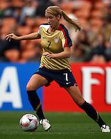 Courtney Verloo (USA)..FIFA U17 Women's World Cup, Paraguay v USA, Waikato Stadium, Hamilton, New Zealand, Sunday 2 November 2008. Photo: Renee McKay/PHOTOSPORT