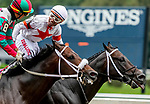 August 28, 2021: Yaupon #7, ridden by jockey Ricardo Santana Jr. prevails over Firenze Fire #8 ridden by Jose L. Ortiz to win the Grade 1 Forego Stakes at Saratoga Race Course in Saratoga Springs, N.Y. on August 28th, 2021. Scott Serio/Eclipse Sportswire/CSM