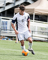 The Winthrop University Eagles played the UNC Wilmington Seahawks in The Manchester Cup on April 5, 2014.  The Seahawks won 1-0.  Jacob VanCompernolle (6)