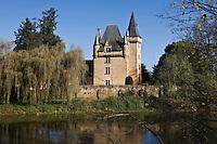 Europe/France/Aquitaine/24/Dordogne/Vallée de la Vézère/Périgord Noir/Saint-Léon-sur-Vézère:le Château de Clérans