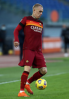 Football, Serie A: AS Roma - Parma, Olympic stadium, Rome, November 22, 2020. <br /> Roma's Rick Karsdorp in action during the Italian Serie A football match between Roma and Parma at Rome's Olympic stadium, on November 22, 2020. <br /> UPDATE IMAGES PRESS/Isabella Bonotto