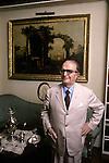 Giovanni Macchia ( 1912-2001) at home in Rome.