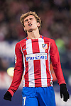 Antoine Griezmann of Atletico de Madrid reacts during the La Liga match between Atletico de Madrid and RCD Espanyol at the Vicente Calderón Stadium on 03 November 2016 in Madrid, Spain. Photo by Diego Gonzalez Souto / Power Sport Images