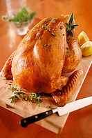 Whole roast chicken food photos.