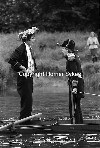 Eton College, Fourth of June celebrations. Eton, Berkshire, England 1971.<br />
