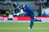 Joe Denly Chips into the on side during London Spirit Men vs Trent Rockets Men, The Hundred Cricket at Lord's Cricket Ground on 29th July 2021